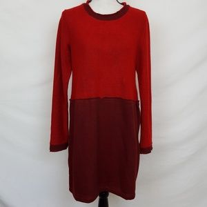 *NWT*  ANTHROPOLOGIE AMADI Red & Black Dress, Sz M